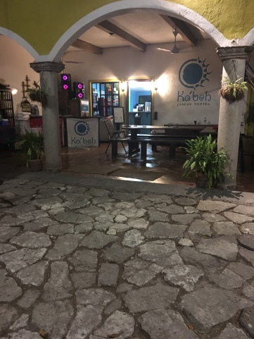 Ka'beh Hostel. Cancun, Mexico